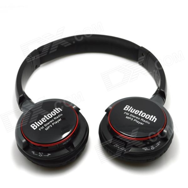 NK-8001BT Bluetooth V2.1 Stereo Headset Headphone - Black sx 910a bluetooth v2 1 stereo handsfree headset black 10 hour talk 135 hour standby