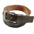 D11 Fashionable Men's Artificial Leather Belt - Brown