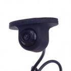 XY-168F Universal Waterproof Car CCD Rearview Camera - Black (DC 12V)