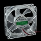 CHEERLINK C8025B PC Cooling Fan - Transparent