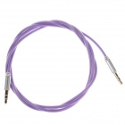 3.5mm Audio Male to Male Connection Cable - Light Purple (98cm)