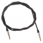3.5mm Audio Male to Male Connection Cable - Black (98cm)