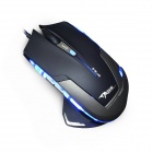 E-3lue EMS140BKC E-Blue Mazer 2500dpi Optical USB Wired Gaming Mouse w/ Blue LED - Blue + Black