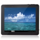 "Q97S 9.7"" HD Android 4.2.2 Quad Core Tablet PC w/ 1GB RAM, 8GB ROM, Wi-Fi, HDMI - Silver + Black"