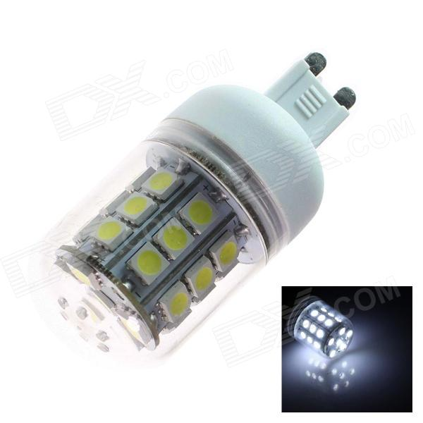 TZY Q7 G9 5W 330lm 6500K 30SMD 5050 LED White Light Lamp Bulb - White (AC 220~240V)