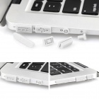Enkay universales anti-polvo Tapones para MacBook Pro con Retina Display / MacBook Air - Blanco (10 PCS)