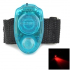 Bracelet Style Ultrasonic Pest Mosquito Dispeller w/ Flashlight - Blue + Black