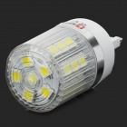Lexing LX-YMD-062 G9 3W 200lm 7000K 27-5050 SMD LED White Light Bulb - White + Silver + Transparent