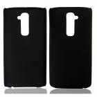 Fashionable Super Thin Protective Glaze PC Back Case for LG G2 - Black