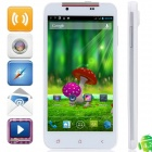 "S5 MTK6589T Quad-Core Android 4.2.1 WCDMA Bar Phone w/ 5.0"" HD, 32GB ROM, 2GB RAM, GPS - White"