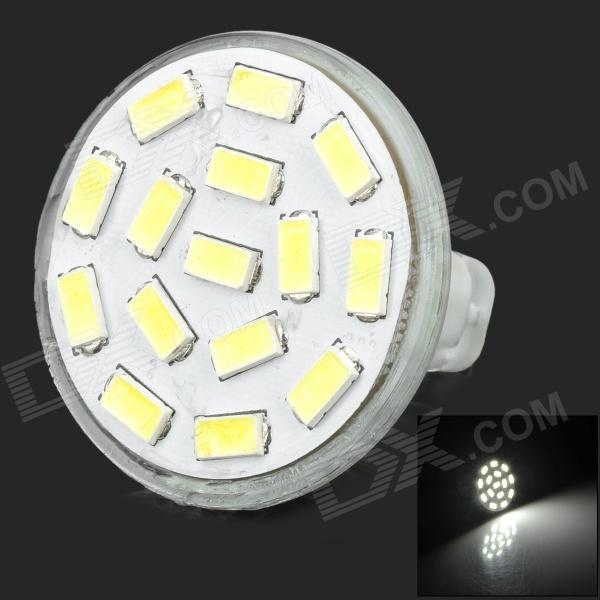 SENCART GU 5.3 MR11 350LM 6500K fresco  bulbo Branco 15 SMD LED luz