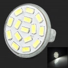 SENCART GU 5.3 MR11 350lm 6500K White 15-SMD 5730 LED Light Bulb - White