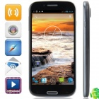 "S4 MTK6589T Quad-Core Android 4.2.1 WCDMA Bar Phone w/ 5.0""FHD, 2GB RAM, 32GB ROM, FM - Black + Grey"