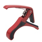 Stainless Steel Guitar Capo for 6-String Guitar (Red)