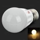 Lexing LX-QP-1 E27 3W 200lm 3500K 6-5730 SMD LED Warm White Light Bulb - White