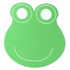 Cute Cartoon Frog Style Mouse Pad Mat - Green + White + Black