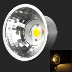 BA15D COB 5W 350lm Warm White Light LED-Lampe - Silber + Weiß