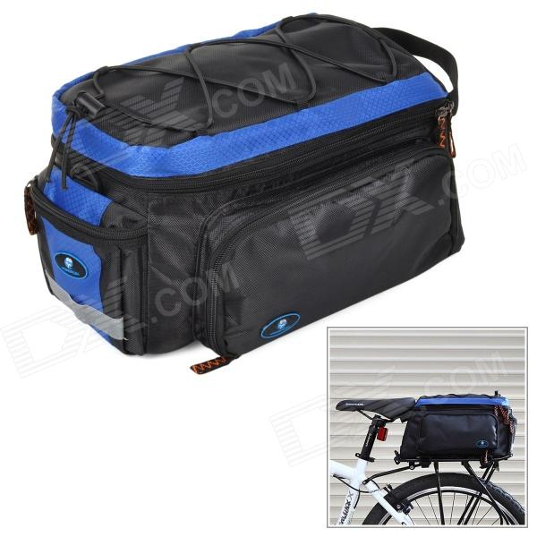 Yongruih BA001 Outdoor Cycling Nylon Bike Back Bag w/ Shoulder Strap - Blue + Black встраиваемый точечный светильник donolux точечный a1506 50