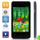 "Mini One MTK6572 Dual-core Android 4.2.2 WCDMA Bar Phone w/ 4.0"" Screen, Wi-Fi, FM and GPS - Black"
