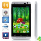 "Mini One MTK6572 Dual -Core Android 4.2.2 WCDMA Bar Phone w/ 4.0"" Screen, Wi-Fi, FM and GPS - Silver"