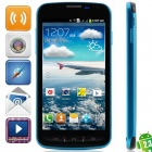 "i9295 Android 2.3.6 GSM Bar Phone w/ 4.7"" Capacitive Screen, FM, Quad-Band and Wi-Fi - Black + Blue"