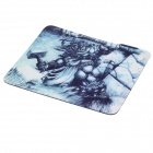 Bai Mai H1 Silicone Gaming Mouse Pad - Black + White