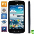 "i9295 Android 2.3.6 GSM Bar Phone w/ 4.7"" Capacitive Screen, FM, Quad-Band and Wi-Fi - Black + Grey"