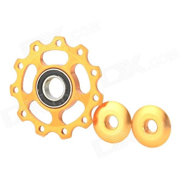 UU-OM Bicycle Aluminum Alloy CNC Rear Derailleur Pulley - Golden
