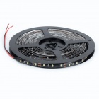 Waterproof 24W 1800lm 6500K 300-3528 SMD LED White Light Car Decoration Light Strip -Black (5M)