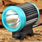 UltraFire LZZ-1 CREE XM-L U2 600lm 4-Mode White Bicycle Light - Black + Blue