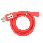 USB Male to Micro USB Male Data Sync & Charging Cable - Red (100cm)