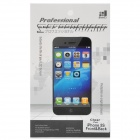 Protective PET Clear Front + Back Screen Guard Film Set for Iphone 5S