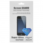Protective PET Diamond Sparkling Screen Guard Film for Iphone 5S