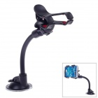 Universal Car Suction Cup Holder Stand Mount for Mobile Phone - Black