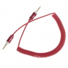 Spring 3.5mm Audio Male to Male Connection Cable - Red (45cm)