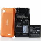 "Lenovo A660 MTK6577 Dual-Core Android 4.0.4 WCDMA Bar Phone w/ 4.0"", Wi-Fi and GPS - Black + Orange"