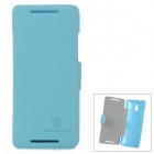 NILLKIN Protective PU Leather + PC Case for HTC 601e One Mini M4 - Blue
