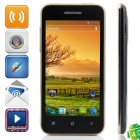 "Bedove X12 MTK6577 Dual-Core Android 4.0.9 WCDMA Bar Phone w/ 4.0"", Wi-Fi, FM, GPS - Black + Golden"