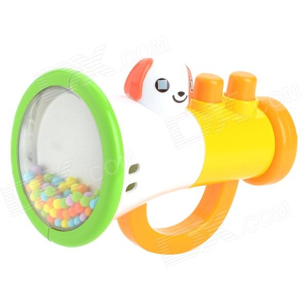 Cute Horn Style Phonic Baby Rattles Toy