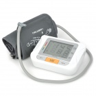 "Guan Bao U80LH 3.5"" LCD Auto Digital Arm Blood Pressure + Pulse Monitor - White + Grey"