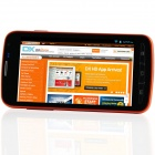 "i9295 Android 2.3.6 GSM Bar Phone w/ 4.7""Capacitive Screen, FM, Quad-Band and Wi-Fi - Black + Orange"