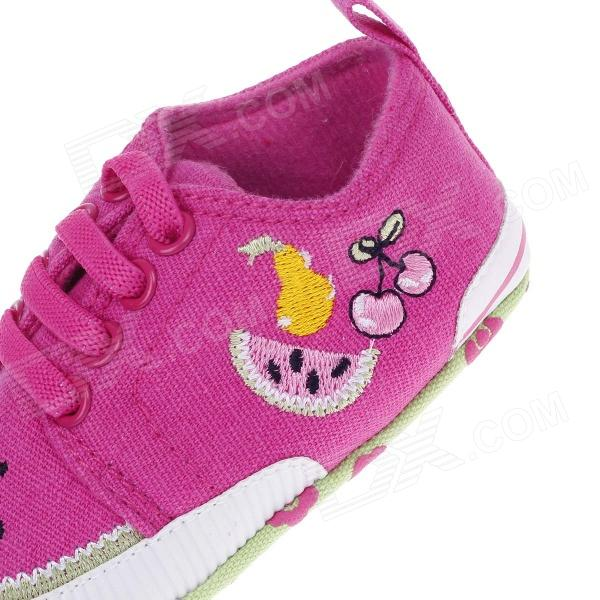 Sweet Fruit Pattern Baby Shoes Multicolored 3 6 Months