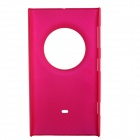 Fashionable Super Thin Protective Glaze PC Back Case for Nokia Lumia1020 - Deep Pink