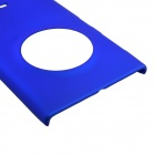 Fashionable Super Thin Protective Glaze PC Back Case for Nokia Lumia1020 - Blue