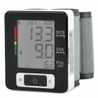"Guan Bao U60CH 2.4"" LCD Auto Digital Arm Blood Pressure + Pulse Monitor - Black + White + Grey"