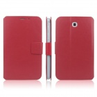 ENKAY ENK-7030 Protective PU Leather Case for Samsung Galaxy Tab 3 7.0 T2100 / T2110 / P3200 - Red