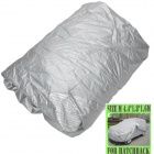 AYA DY009 Protective Water Resistant Dust-Proof Hatchback Car Nylon Cover - Silver (Size M)