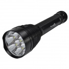 SingFire SF-310 1920lm 7-CREE XM-L T6 5-Mode White Flashlight - Black (3 x 18650 / 26650)