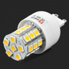Lexing LX-YMD-047 G9 3W 220lm 3500K 27-5050 SMD LED Warm White Light Bulb - White + Yellow