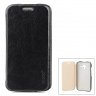 PUDINI WB-Moto X Flip-Open PU Leather + PC Case for Motorola Moto X Phone - Black